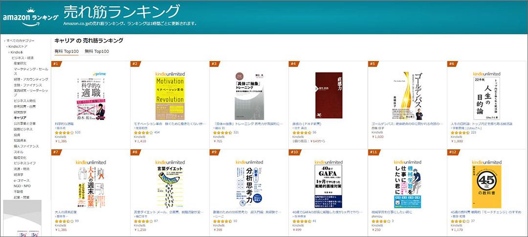 Kindle売れ筋ランキング第5位