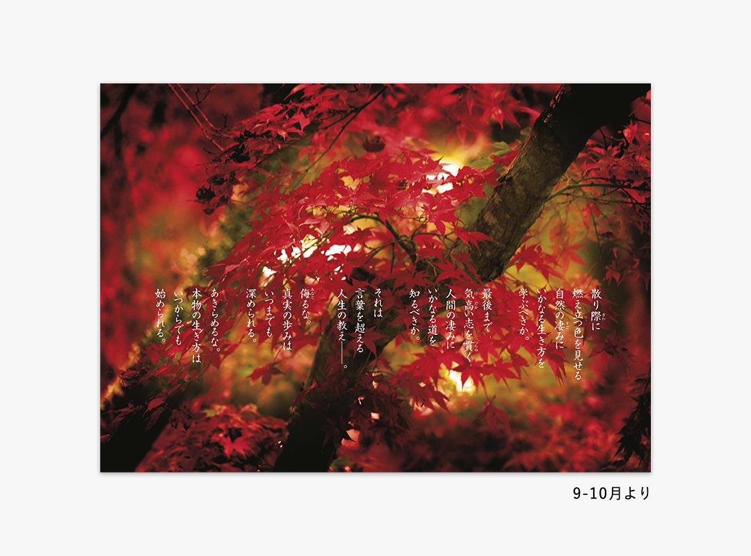 2022高橋佳子カレンダー『返照』9-10月より
